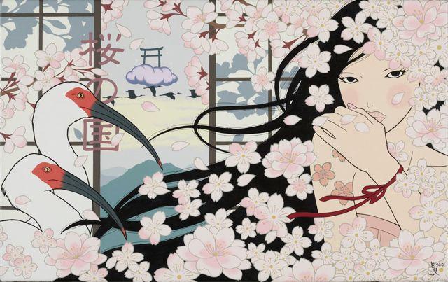 桜の国/SAKURA NO KUNI (Country of Cherry Blossom)