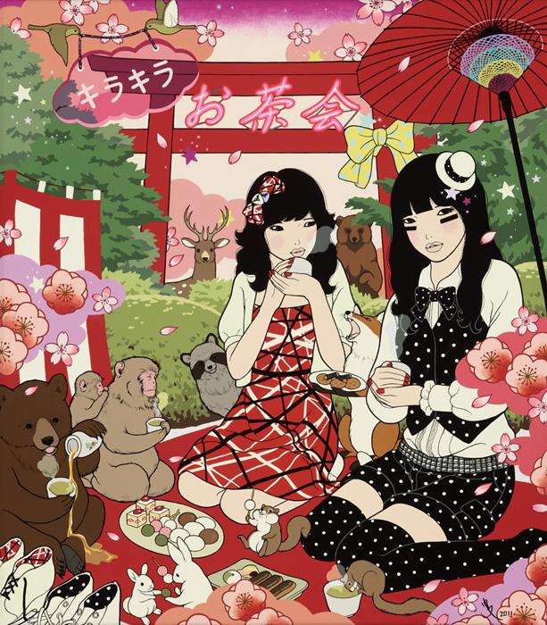 キラキラお茶会/KIRA KIRA OCHAKAI (Twinkle Twinkle Tea Party)