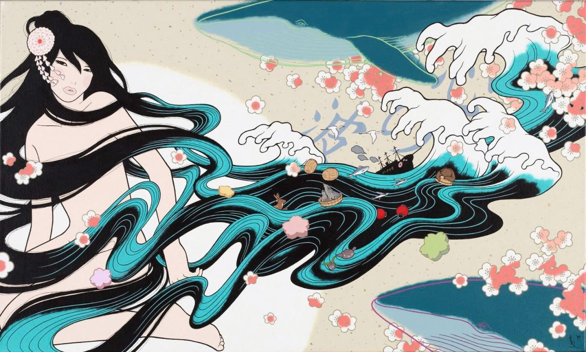 心の波/KOKORO NO NAMI (Waves in the Mind)