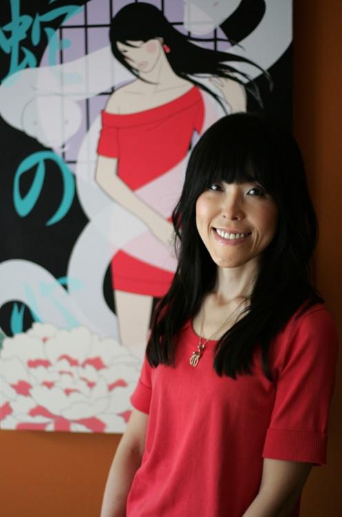 神从由美子日本插画家Yumiko Kayukawa  (Japanese, 1970) - 柳州文铮 - 柳州文铮股票数学模型对冲基金