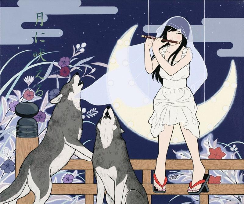 月に吠える/TSUKI NI HOERU (Bark at The Moon)
