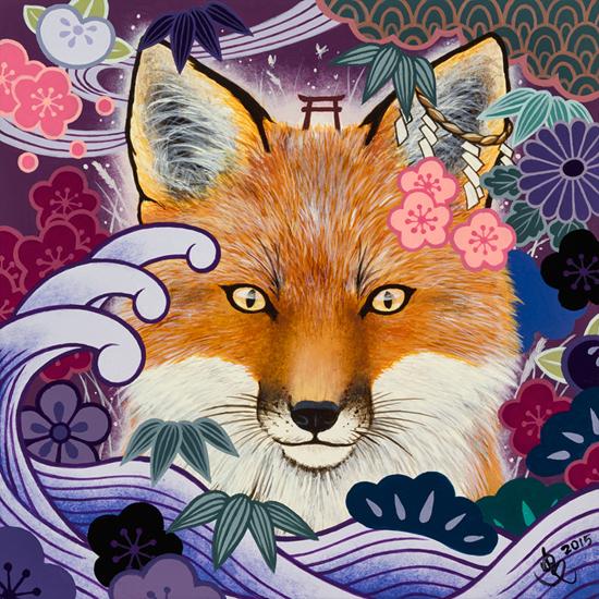 狐の波/KITSUNE NO NAMI (Fox Wave)